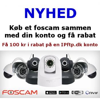 Foscam + konto